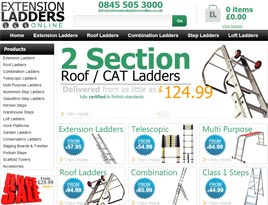 Extension Ladders Online